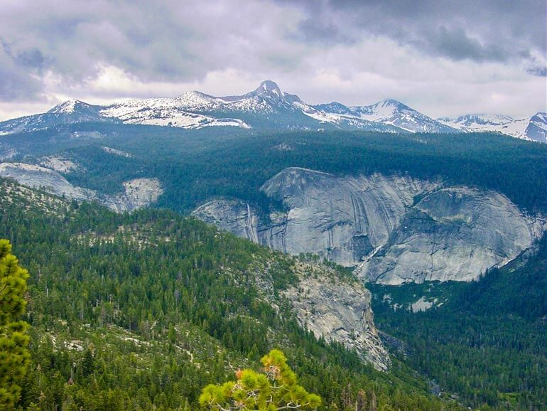 Sites along the Half Dome trail