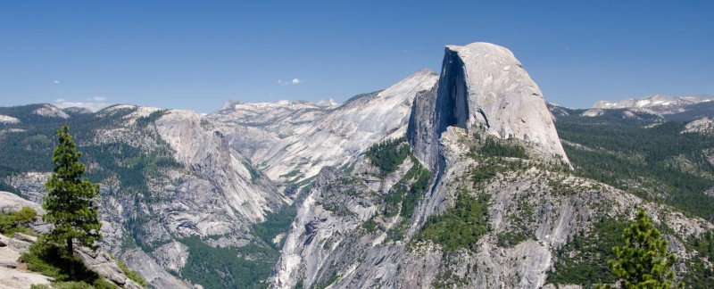 Half Dome in Yosemite, CA
