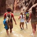 Discovering The Zion Narrows Along The Virgin River