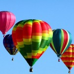 Up, Up, And Away In A Hot Air Balloon