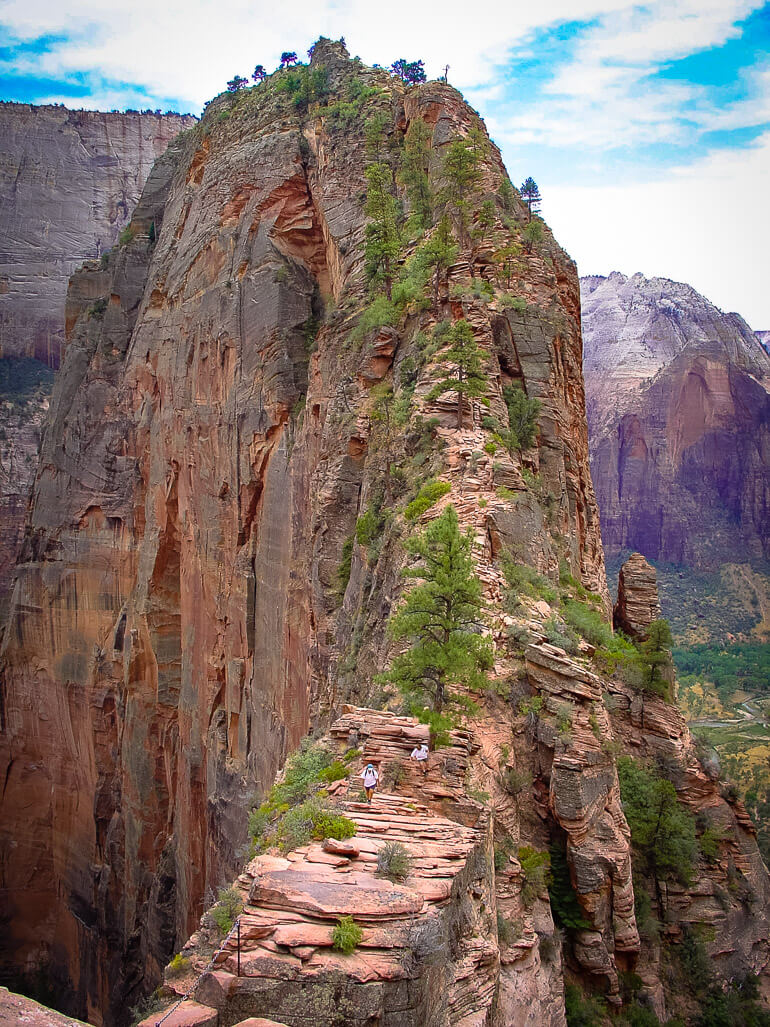 Angels Landing in Zion NP