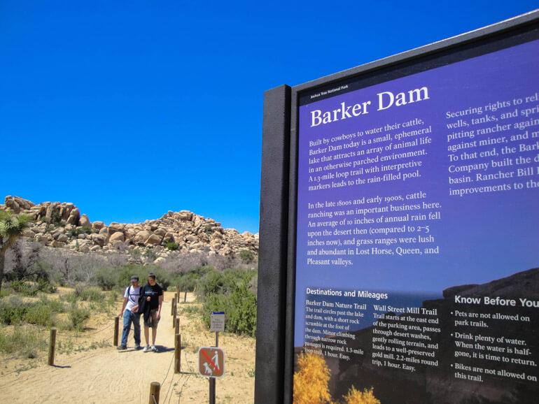 Barker Dam, Joshua Tree