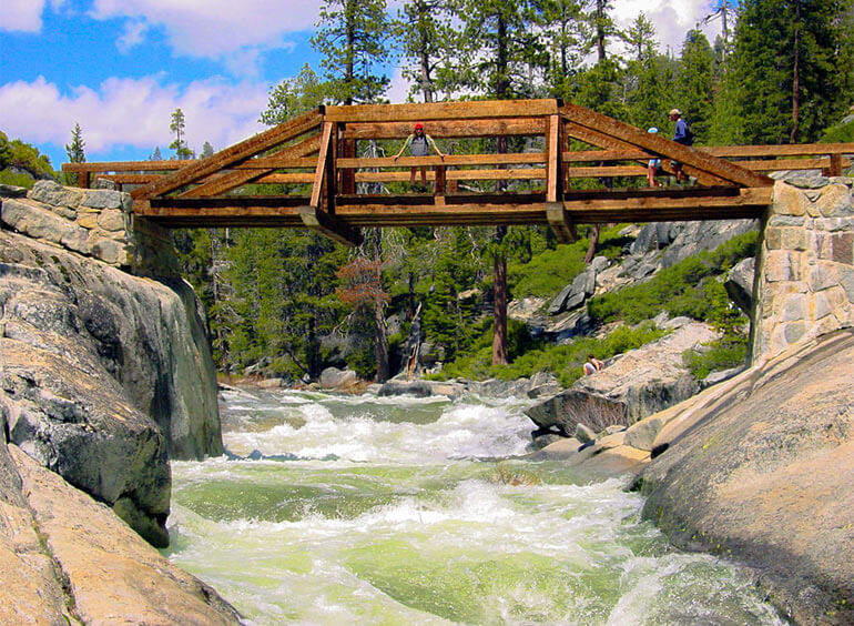 Bridge over Yosemite Creek