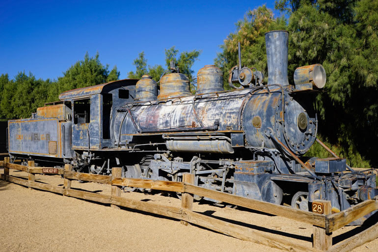 Borax Museum Locomotive
