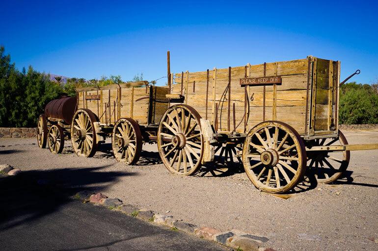 Borax Museum Mule Train