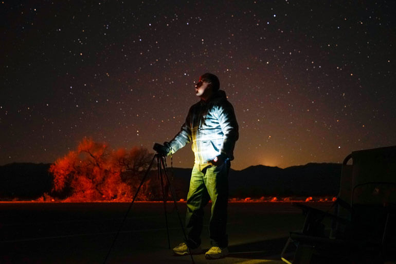 Star Gazing in Death Valley