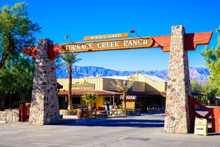 Furnace Creek Ranch in Death Valley