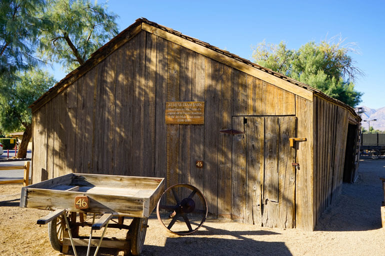 Mule Barn in Death Valley