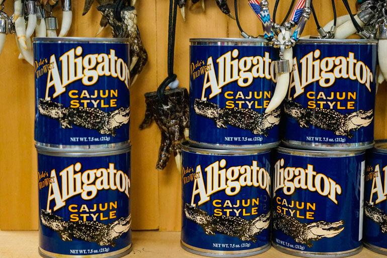 Canned Alligator