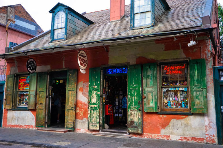 Voodoo Shop New Orleans