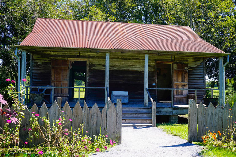 Slave Cabin, Laura Plantation