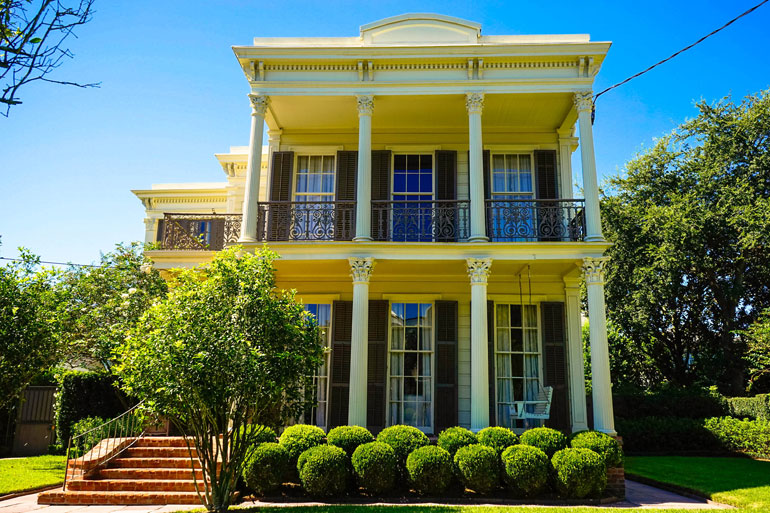 Garden District Mansions New Orleans