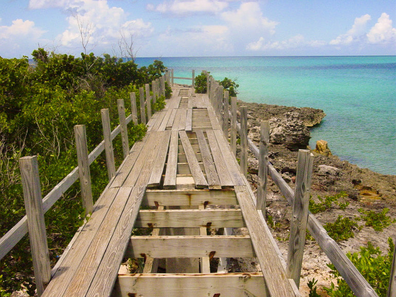 Wooden Bridge at Mullet Beach