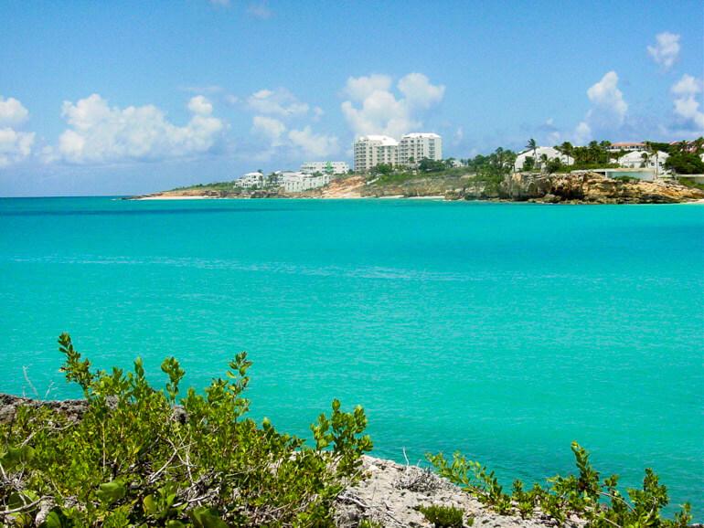 Mullet Beach in St Maarten