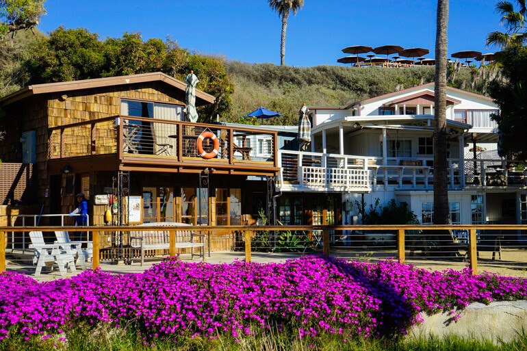 Historic Crystal Cove cottages