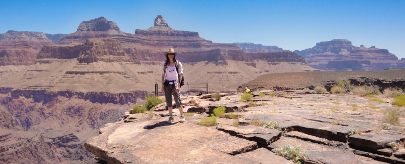 Plateau Point in Grand Canyon