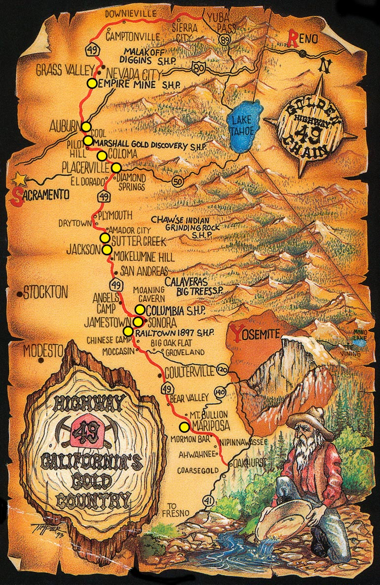 Gold Rush Map