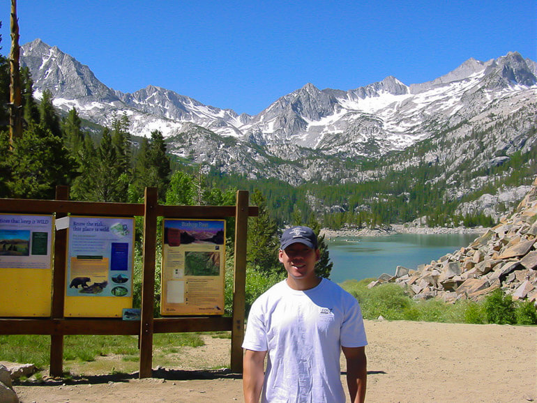 Bishop Pass Trailhead