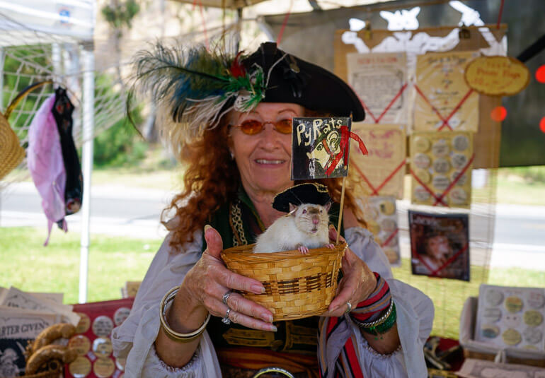A Py Rat at the Pirate Festival