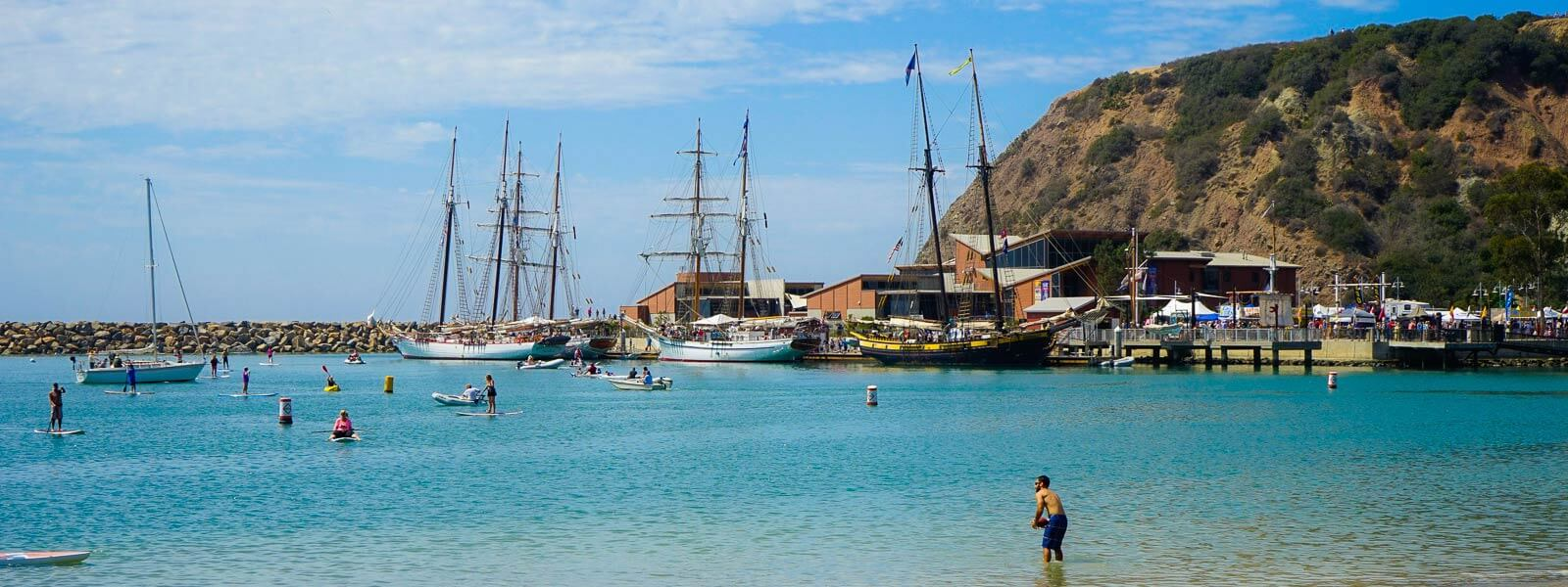 Tall Ships Festival at Dana Point