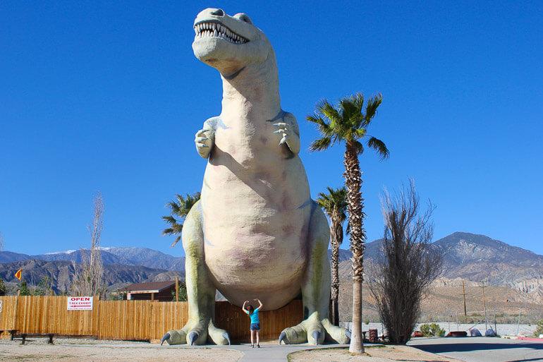 Dinosaur Museum along 10 Freeway