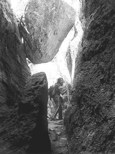 Leaving Pinnacles National Park Caves