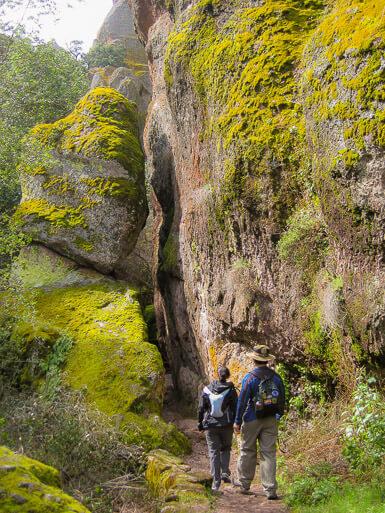Hiking in Pinnacles National Park