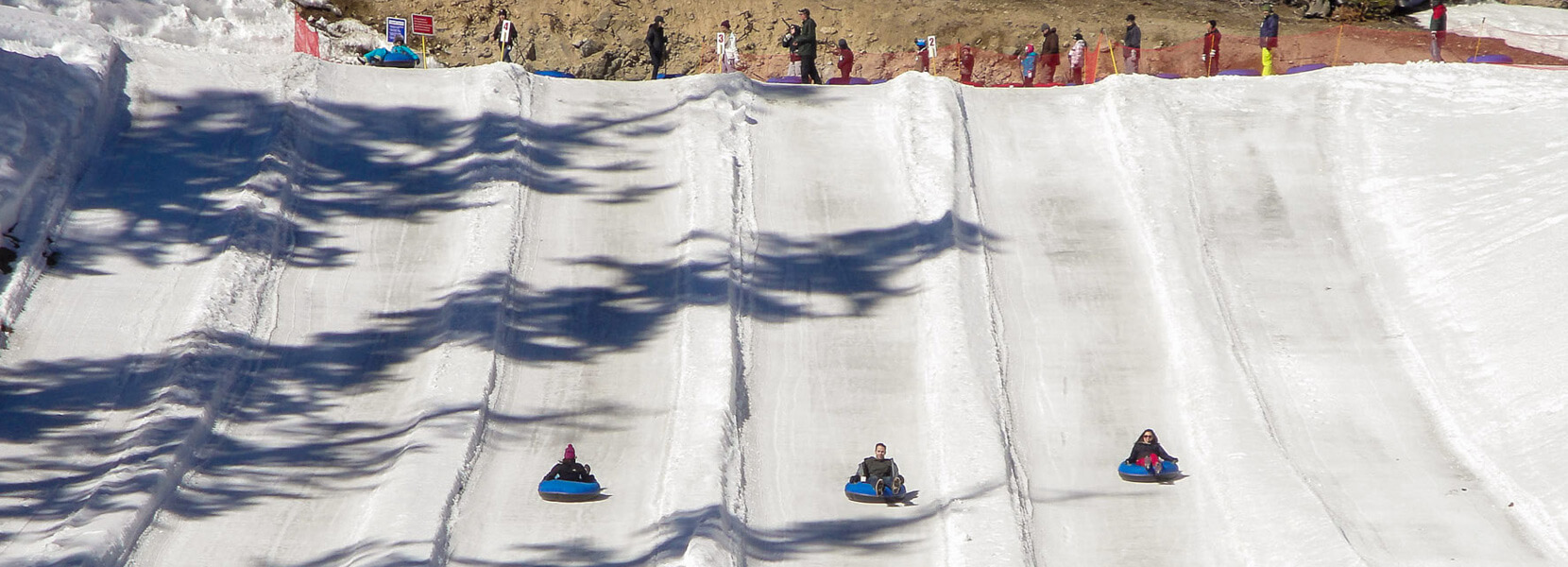 Tubing at Mammoth Mountain