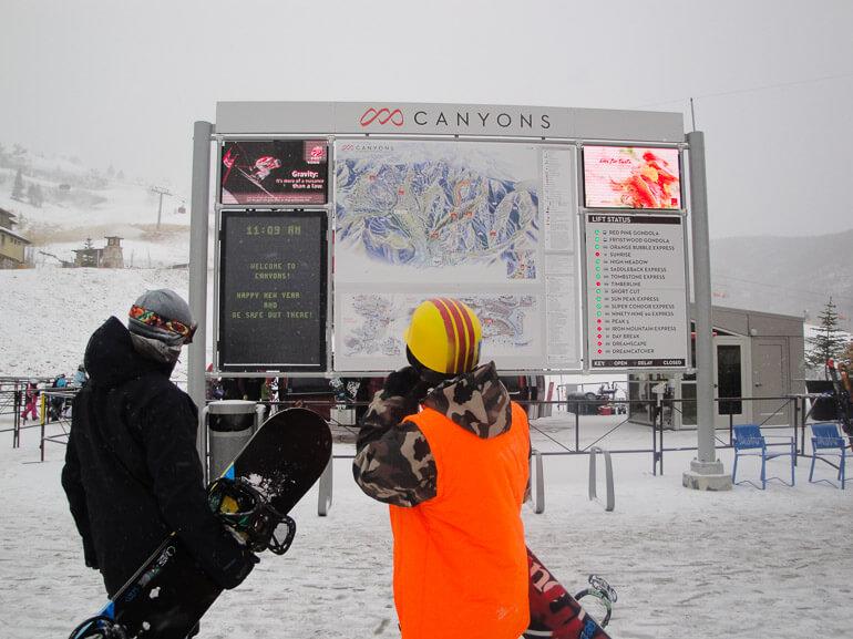 Canyons Ski Resort Park City Utah