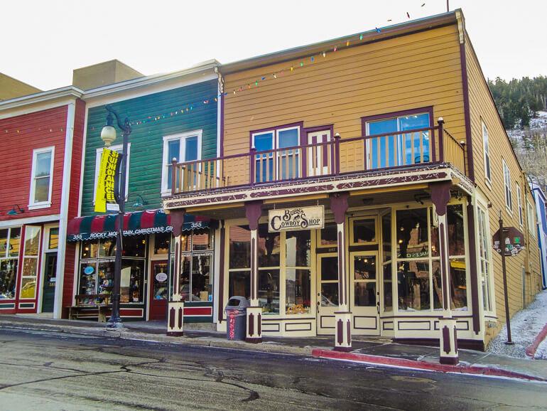 Burns Cowboy Shop in Park City Utah
