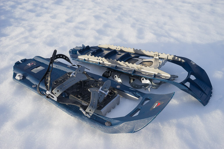 MSR Evo composite snowshoes