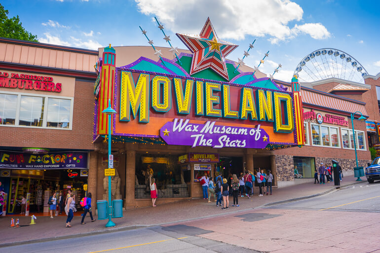 Movieland Wax Museum on Clifton Hill, Niagara Falls