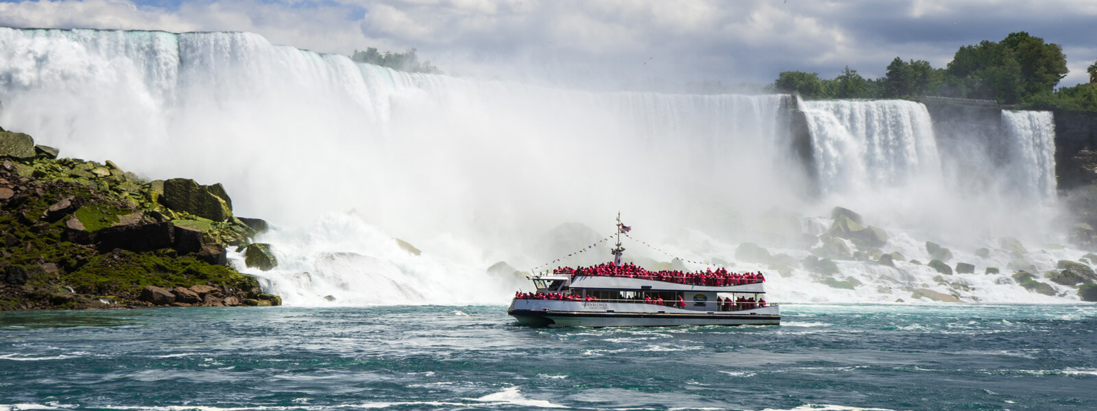 Boat Cruise At Niagara Falls