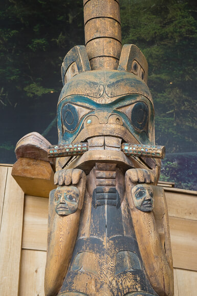 Totem Pole at the Canadian Museum of History