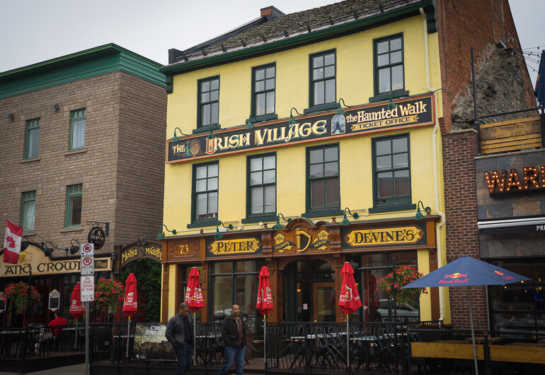 Irish Pubs at Ottawa's Byward Market