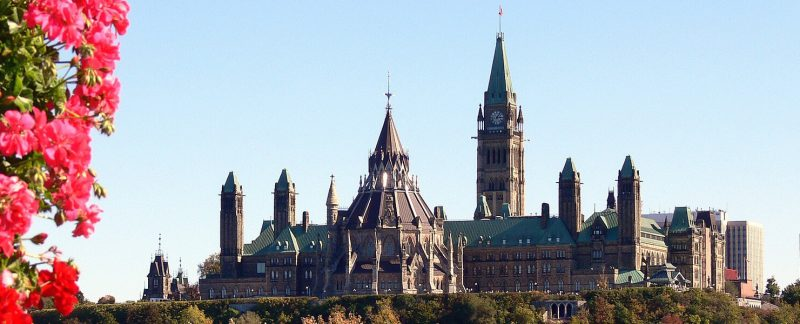 The city of Ottawa, Canada's southeastern capital