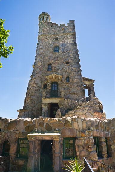 The Alster Tower at Boldt Castle