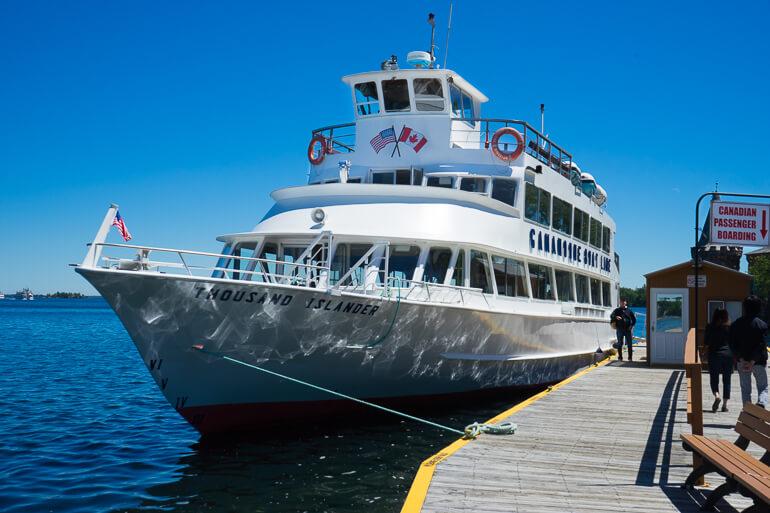 Gananoque Boat Tour