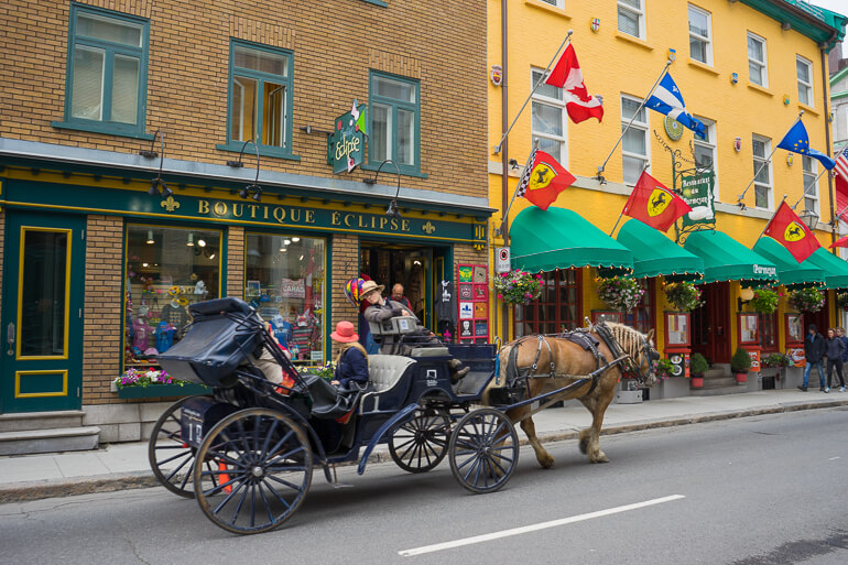 Carriage Ride in Old Quebec